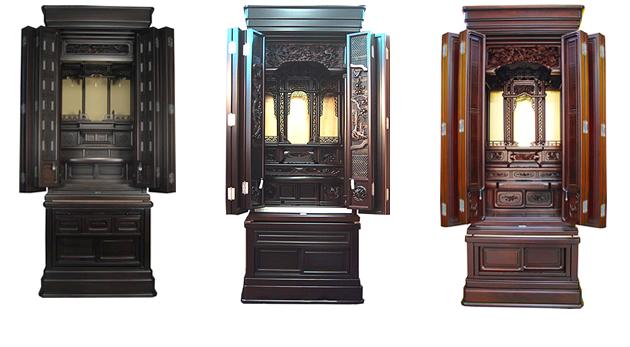 <家具調仏壇> 自由に祀る仏壇仏具が家具調仏壇です。 仏壇は仏間に、と... 愛知県で仏壇・仏具
